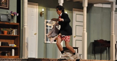 """An unplanned review of """"Noises Off,"""" a show by RM's Black Maskers"""