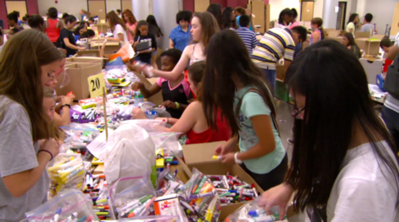 MCPS Drive for Supplies recycling program helps the community and Ecuadorians devastated in April's earthquake
