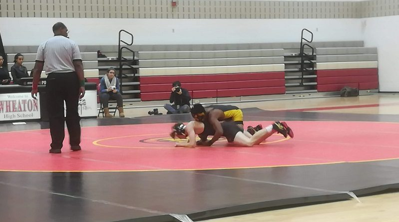 Wrestling gets their first win of the season over Wheaton